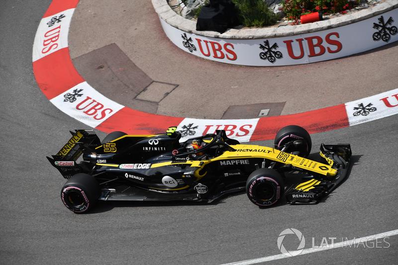 Карлос Сайнс, Renault Sport F1 Team R.S. 18