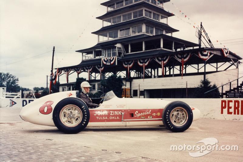 Pat Flaherty (Watson) - Indy 500 1956