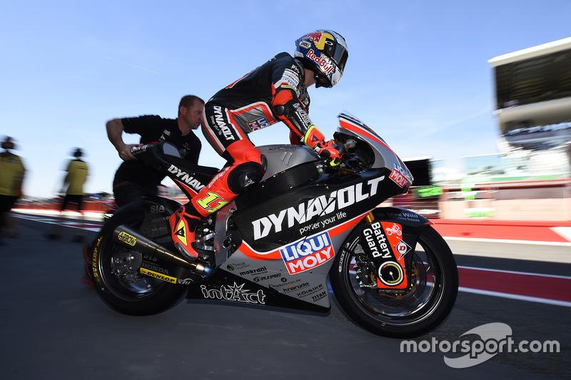 Sandro Cortese (Dynavolt IntactGP) Moto2 – 11. Platz