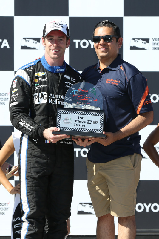 Simon Pagenaud, Team Penske Chevrolet racewinnaar