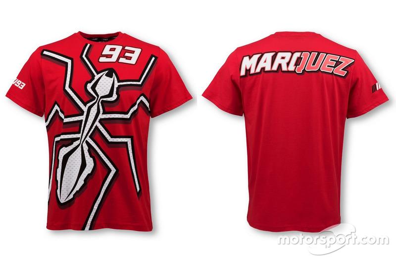 """T-shirt Marc Marquez """"La Hormiga"""" 2016 rouge"""