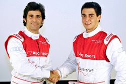Sérgio Jimenez e Bruno Baptista correm em 2016 pela Audi