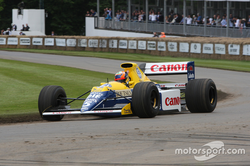 Karun Chandhok in the FW13B