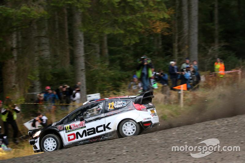Ott Tanak, Raigo Molder, Ford Fiesta WRC, Dmack WRT