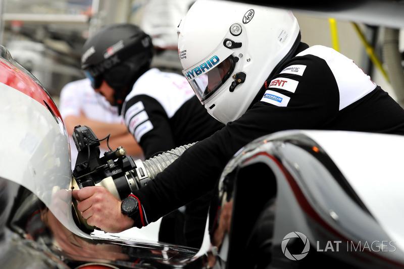 Team member Toyota Gazoo Racing Toyota TS050