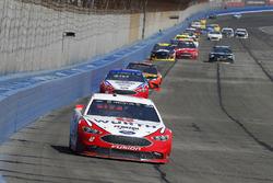 Brad Keselowski, Team Penske, Ford Fusion Wurth, Joey Logano, Team Penske, Ford Fusion AAA Southern California