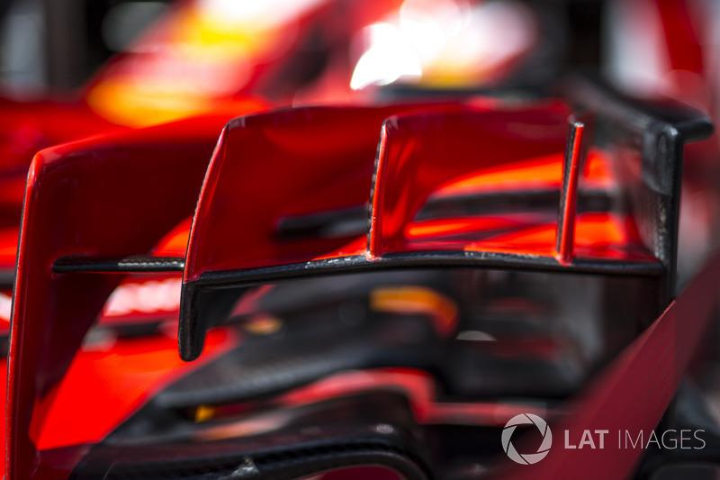 Aileron avant Ferrari SF71H
