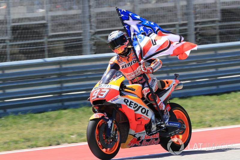 MotoGP Amerika: Menang