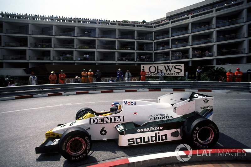 Keke Rosberg, Williams FW09
