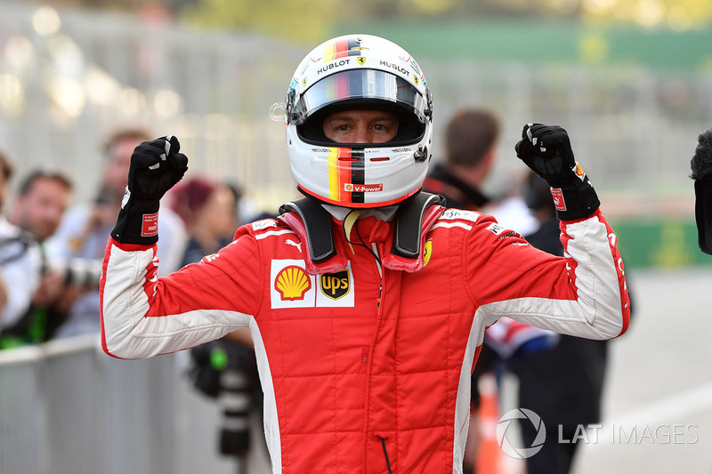Azerbaïdjan - Sebastian Vettel, Ferrari