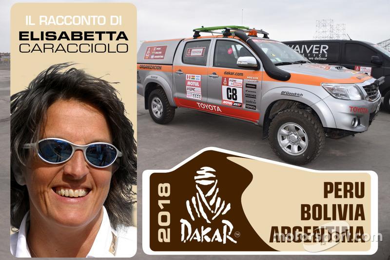El Dakar seguido en coche