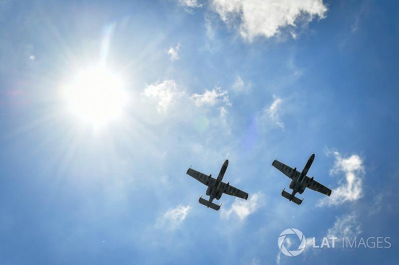 atmosphere, flyover, A-10 Warthog
