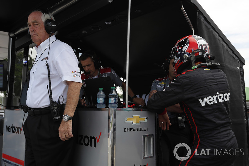 Will Power, Team Penske Chevrolet and Roger Penske