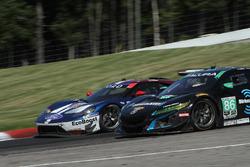 #67 Chip Ganassi Racing Ford GT, GTLM: Ryan Briscoe, Richard Westbrook #86 Michael Shank Racing with Curb-Agajanian Acura NSX, GTD: Katherine Legge, Alvaro Parente