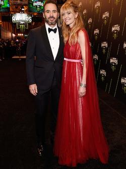 Jimmie Johnson e la moglie Chandra