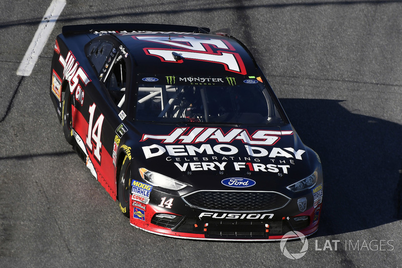 Clint Bowyer, Stewart-Haas Racing, Ford Fusion Haas Automation Demo Day