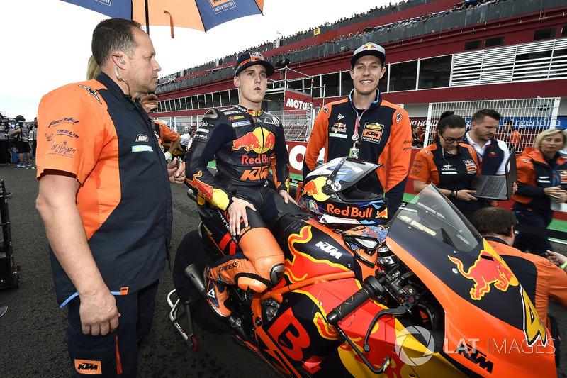 Pol Espargaro, Red Bull KTM Factory Racing, Cobby Webb
