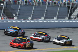 Una manada de Porsches