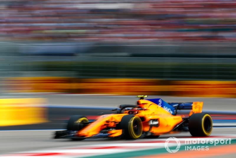 17 місце — Стоффель Вандорн, McLaren. Умовний бал — 5,50