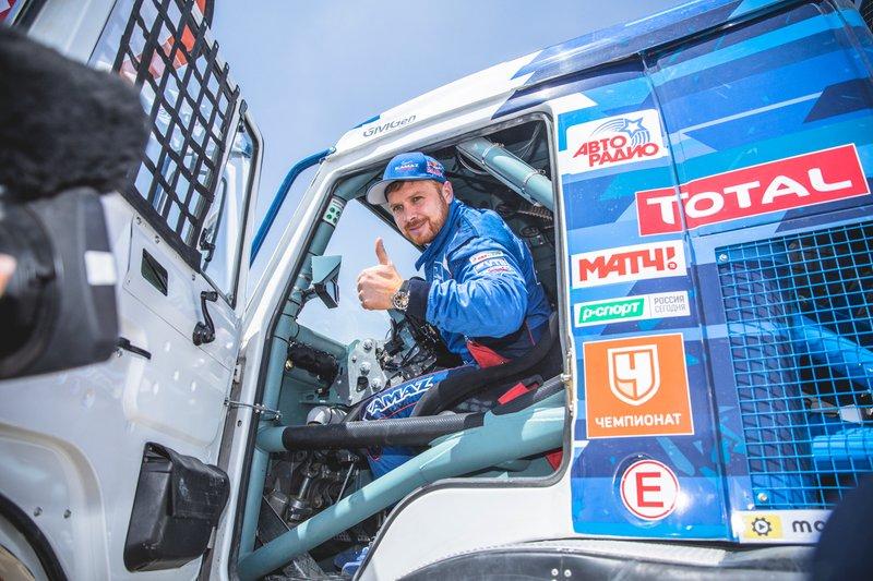 #500 Team Kamaz Master: Едуард Ніколаєв