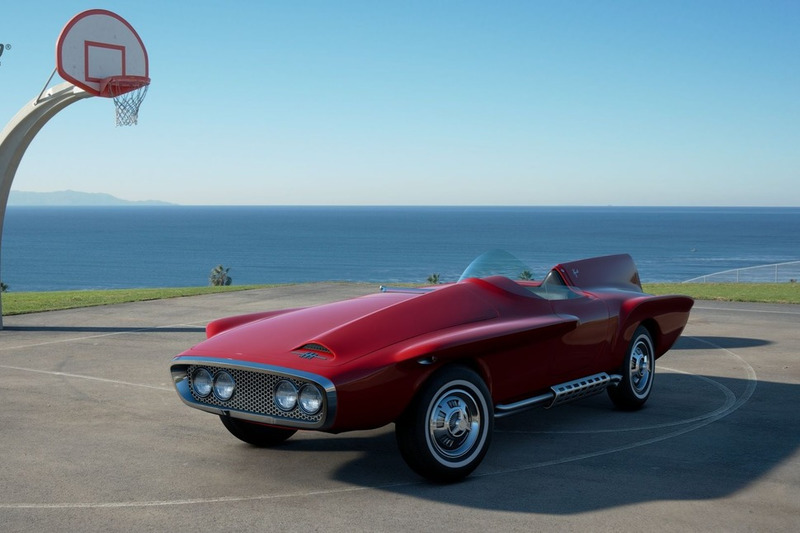 Plymouth XNR Ghia Roadster '60