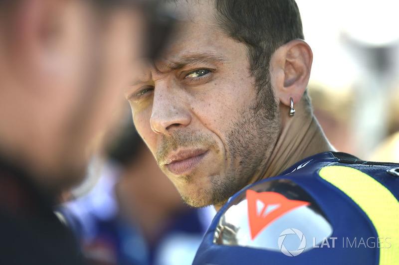 Rossi kan niet extra's brengen met deze Yamaha (ook niet op Misano)