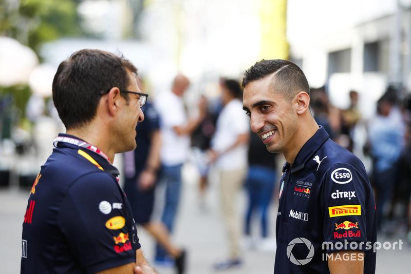 Sebastien Buemi, pilote d'essais et de réserve, Red Bull Racing