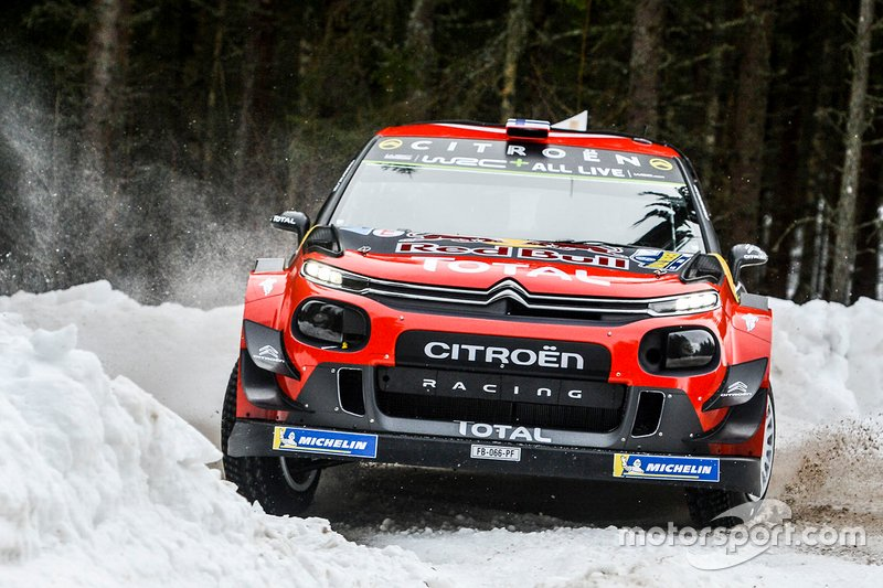 Есапекка Лаппі, Янне Ферм, Citroën World Rally Team Citroen C3 WRC