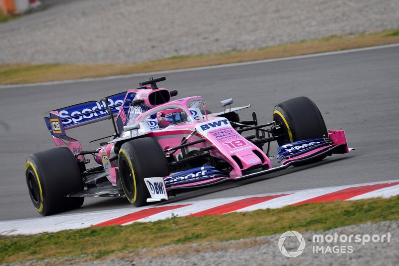 Lance Stroll, SportPesa Racing Point F1 Team