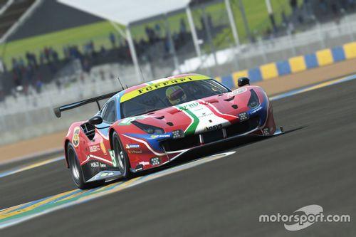 Annuncio Ferrari 24 ore di Le Mans