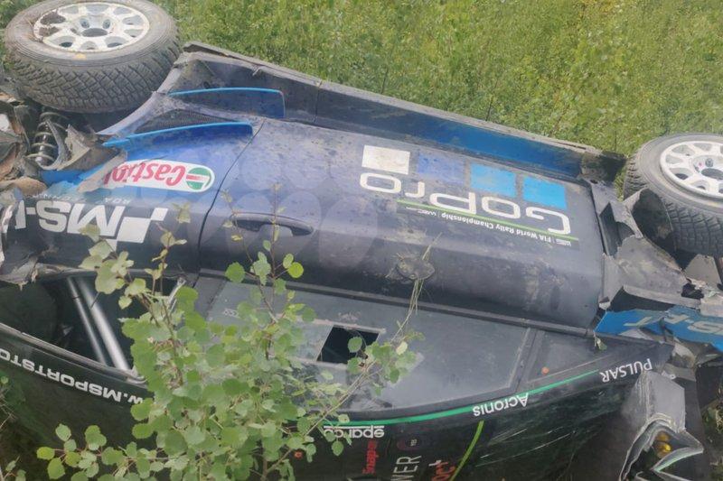 WRC-Test in Finnland