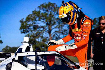 IndyCar-Test in Sebring