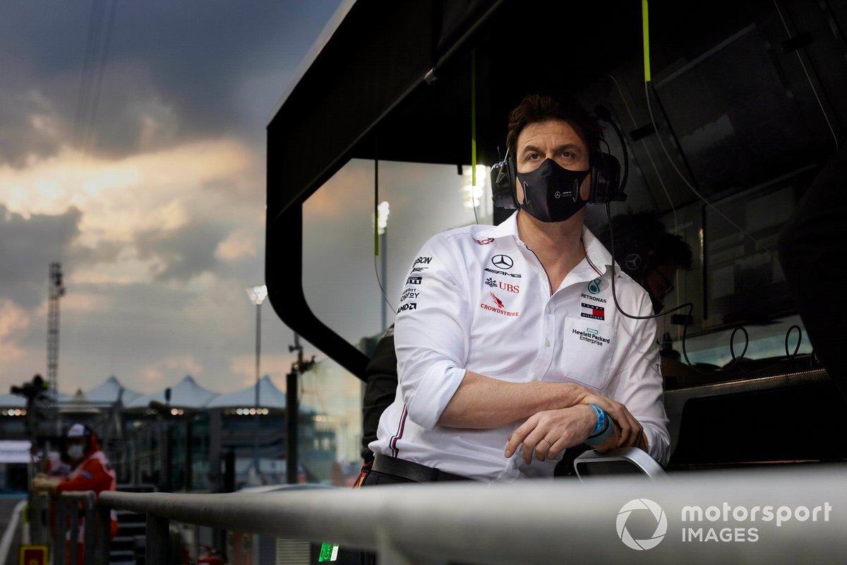 Toto Wolff, Jefe del equipo Mercedes de F1.