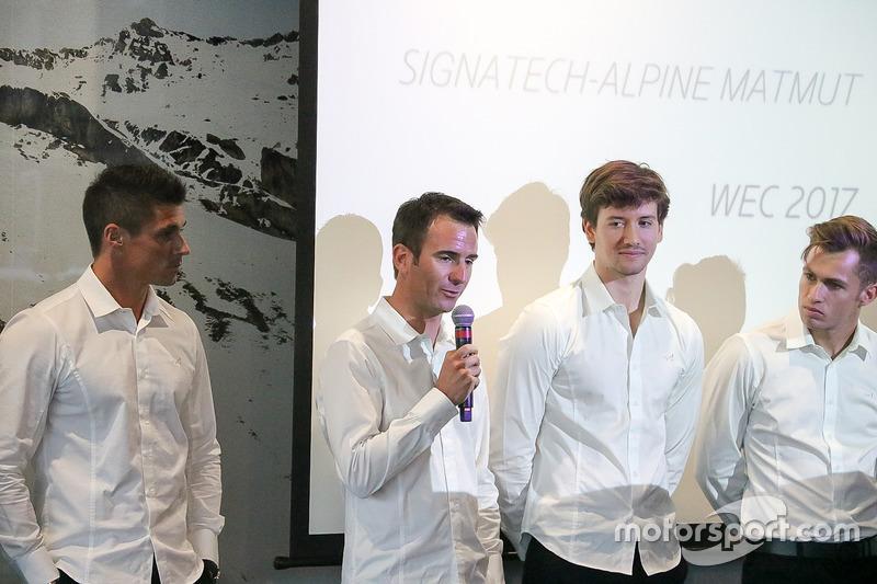 Romain Dumas, Signatech Alpine