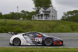 #93 RealTime Racing, Acura NSX GT3: Peter Kox, Mark Wilkins