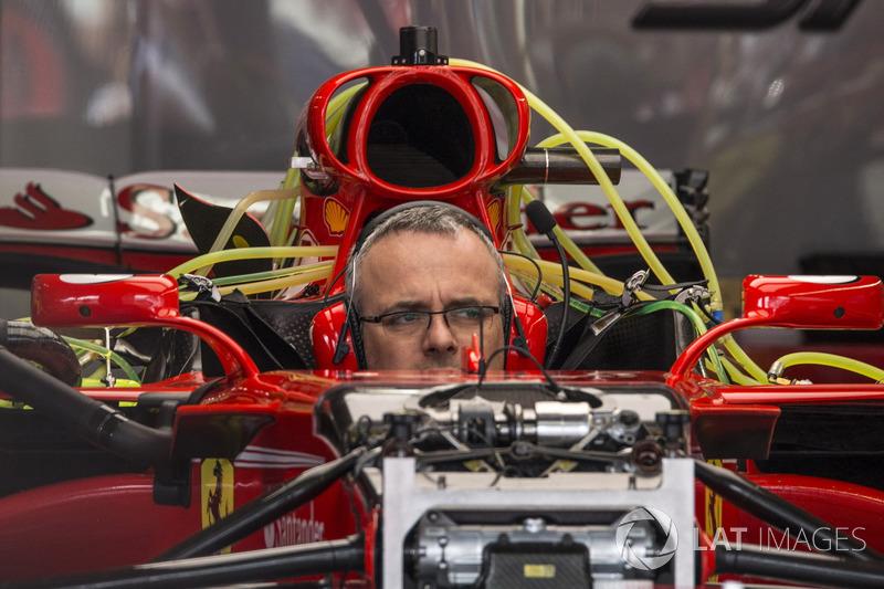 Механік, Ferrari SF70H, Ferrari SF70H