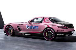Mercedes Benz SLS AMG in Force India livery