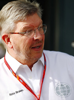 Ross Brawn, directeur du sport automobile, FOM