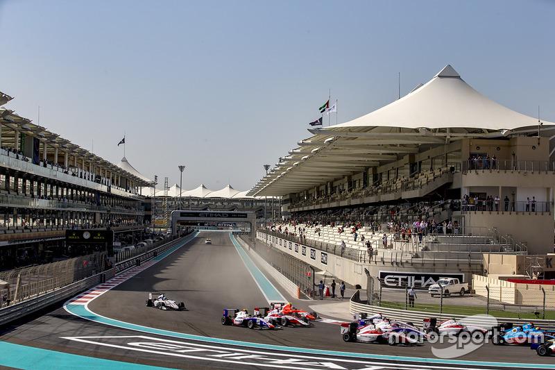Charles Leclerc, ART Grand Prix, Nyck De Vries, ART Grand Prix, Antonio Fuoco, Trident, Matevos Isaakyan, Koiranen GP