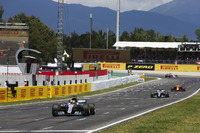 Льюіс Хемілтон, Валттері Боттас, Mercedes AMG F1 W08, Даніель Ріккардо, Red Bull Racing RB13