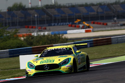 #48 Mercedes-AMG Team HTP Motorsport, Mercedes-AMG GT3: Indy Dontje, Marvin Kirchhöfer