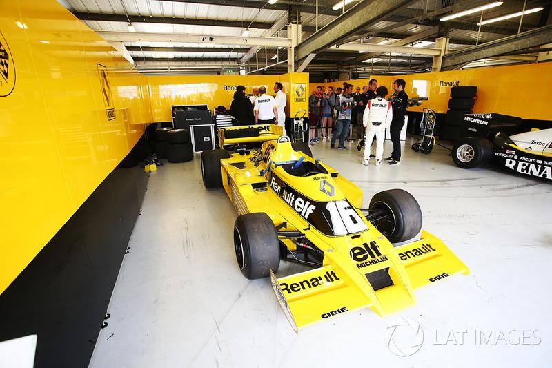 Renault Sport F1 Team F1 Historic: Рене Арну и Франк Монтаньи