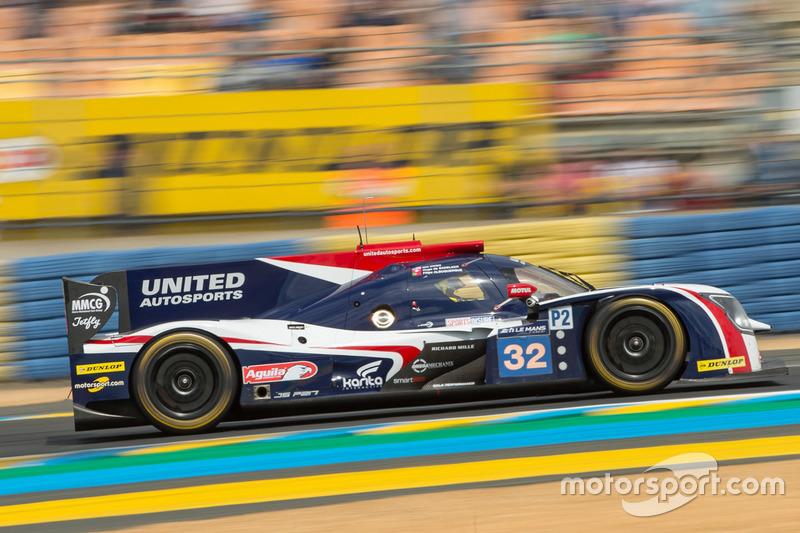 LMP2: #32 United Autosports, Ligier JS P217 Gibson