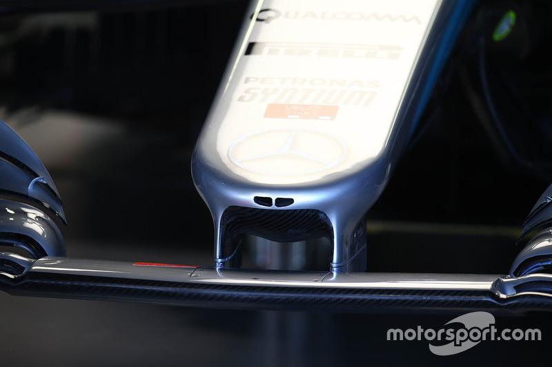 Носовой обтекатель Mercedes F1 W08