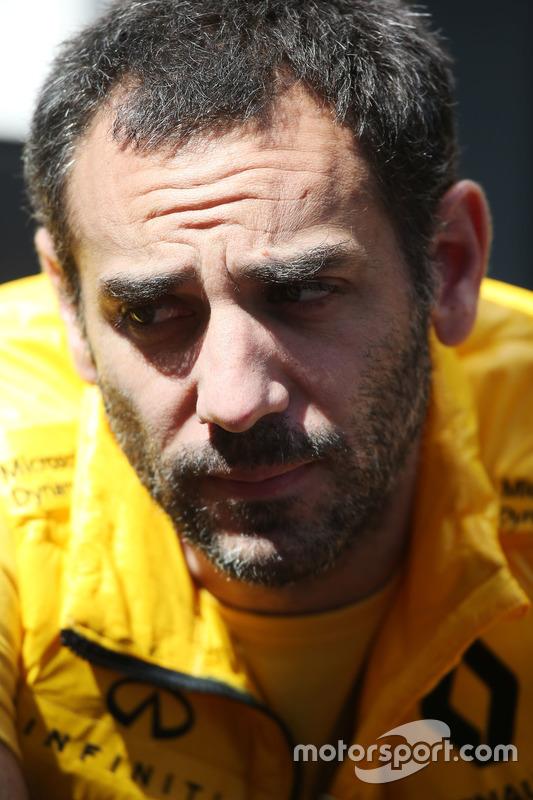 Cyril Abiteboul, Managing Director, Renault Sport F1 Team