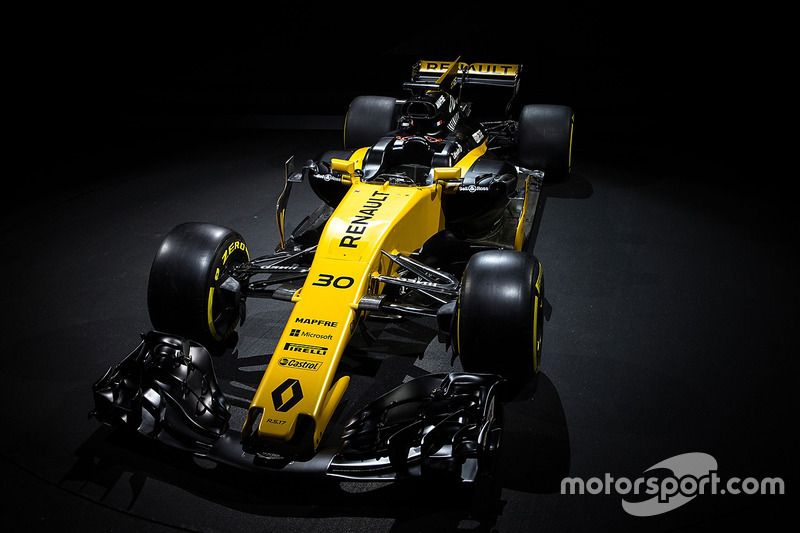 2017: 雷诺 R.S.17 赛车