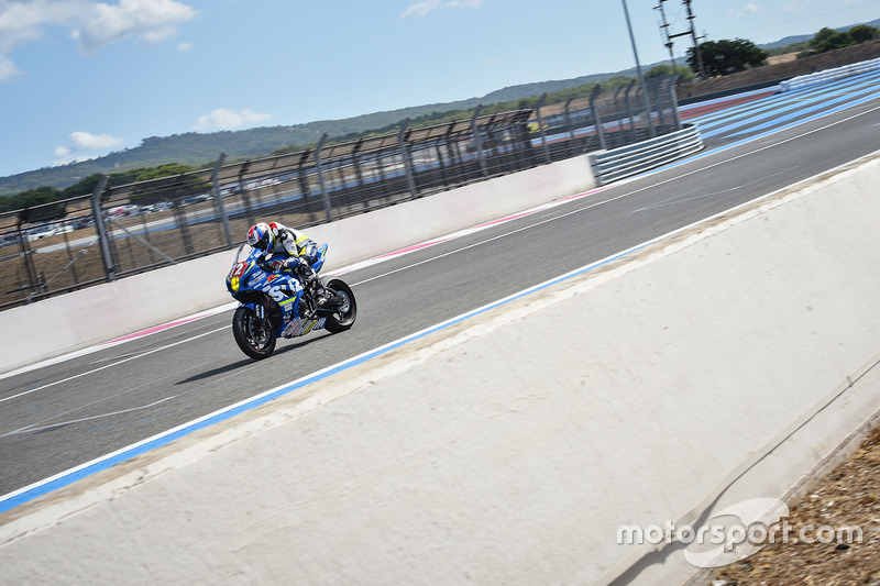 #72 Junior Team Le Mans Sud Suzuki, Suzuki: Robin Camus, Cedric Tangre, Hugo Clere