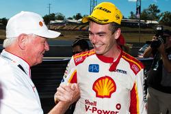 Dick Johnson, race winner Scott McLaughlin, Team Penske Ford