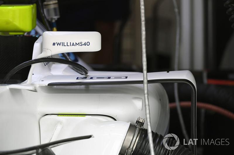 Боковий понтон Williams FW40