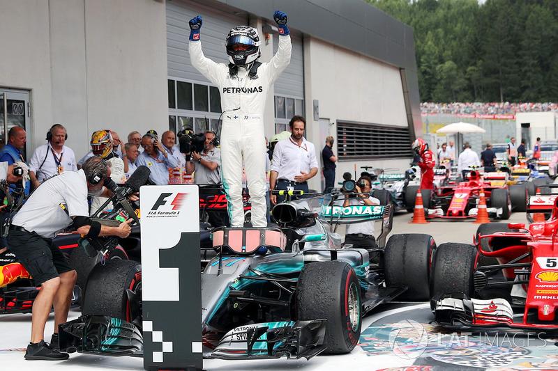 9º GP de Austria 2017 - Victoria para Valtteri Bottas, Mercedes